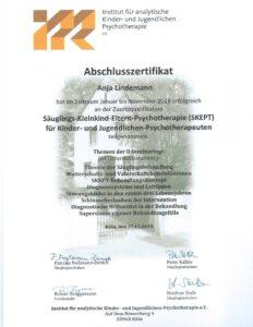 Anja Lindemann | Psychotherapie | Zertifikat SKEPT